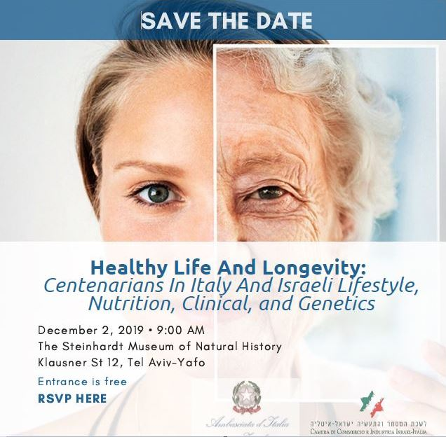 SAVE THE DATE: Healthy Life And Longevity